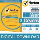 Norton Security Deluxe 2018 (3 Devices/1 Year) Internet Antivirus PC/Mac Licence