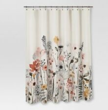 Threshold Floral Wave Shower Curtain Multi Color