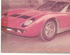 LAMBORGHINI MIURA P 400S 1970 PNEUMATICI ORIG. PIRELLI Primo equipaggiamento