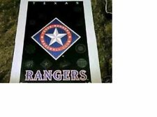 "New listing NOS 1994 ESTATE FIND NO PINHOLES MINT TEXAS RANGERS ""MLB BASEBALL LOGO"" POSTER"