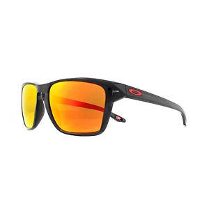 Oakley Sunglasses Sylas OO9448-05 Black Ink Prizm Ruby Polarized