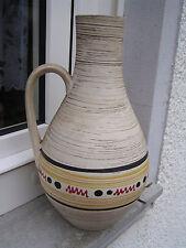 Carstens Tönnieshof 693-35 Typische 50er Henkelvase Vase Keramik handbemalt 37cm