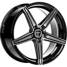 4x Tomason TN20 8,5x20 LK 5x112 Dark hyperblack polished BMW,VW,Audi,Mercedes