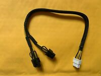 8pin to 8+6pin Power Cable For DELL PowerEdge R720 and GPU card 35cm US