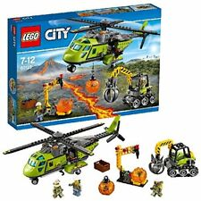 LEGO 60123 City Volcano Explorers Volcano Supply Helicopter, 7-12 Years