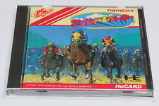World Jockey NEC PC Engine HuCard GT Duo-RX LT * Good Condition Namcot 4 Player