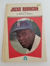 jackie robinson of the Brooklyn Dodgers baseball book Shapiro MLB 1965 vintage