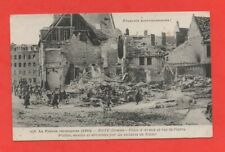 ROYE - 1914 - Place d'Armes et rue Saint Pierre   (J6186)
