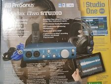 PreSonus AudioBox iTwo Studio Recording Package STUDIO KIT Free Nimbit  account