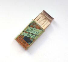 Woodbine REAL Cigarette Packet Dolls House Toy Box Vintage Retro Advertising