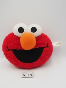 "Elmo A1009 Sesame Street Face Keychain Universal Studio japan 4.5"" Plush Toy"