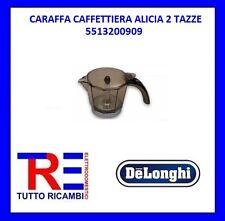 CARAFFA CAFFETTIERA ALICIA 2 TAZZE DE LONGHI ORIGINALE 5513200909