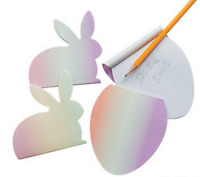 Pack of 12 - Easter Ombre Notepads - Party Loot Bag Fillers
