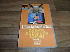 Lilian Jackson Braun -- die KATZE, die das LICHT LÖSCHTE // Fall für Kater Koko