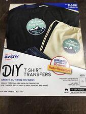 Avery Fabric Transfer Dark 3279