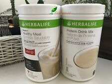HERBALIFE FORMULA 1 HEALTHY MEAL SHAKE AND PROTEIN DRINK MIX (MULTI FLAVORS)