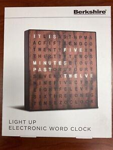 Image Light-Up Electronic Word Clock