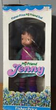 1984 Fisher Price My Friend Jenny # 209 Cloth & Vinyl 15 Inch In Box