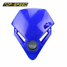StreetFighter Led Mini Headlights Headlamp For Yamaha TTR250 WR426F WR250X Blue