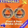 FRONT REAR Brake Shoes SUZUKI TS 50 KN 1979
