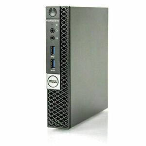 Dell Optiplex 7040 Micro WiFi i5-6500T | 2.50GHz  | 12GB | 256GB SSD | Win10 Pro