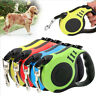 Automatic Retractable Lead Dog Tape Extendable Leash Pet Training Traction Rope