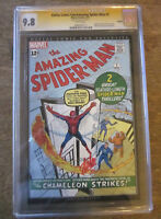 AMAZING SPIDER-MAN #1 CGC 9.8 SS STAN LEE Dallas Comic Con $thousands < GRR