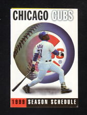 Chicago Cubs--Sammy Sosa--1998 Pocket Schedule--InterAccess