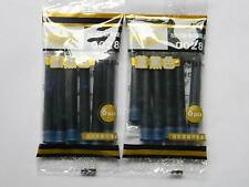 12pcs Blue with black new HERO fountain pen ink cartridges