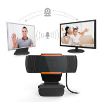 480/1080P Rotatable HD Webcam Camera With Microphone For Laptop Desktop Computer