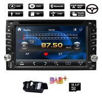 "6.2"" Car DVD GPS Navigation Head Unit Stereo For Nissan Tiida 2006-2013 CII"