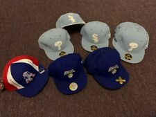 New Era & Reebok Fitted Caps-Slightly Imperfect-Bundle Deal- Please read details