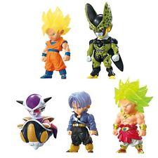 "Japanese animation ""Dragon Ball"" mini Figia 5 type set  Ad Barge BANDAI Japan"