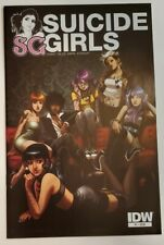 Suicide Girls #1 2011 cover Cameron Stewart