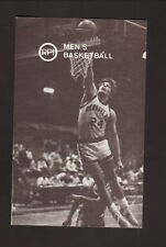 RPI Engineers--1986-87 Basketball Pocket Schedule