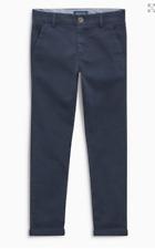 NEXT boys trouser chino slim leg navy 3 4 5 6 7 8 years