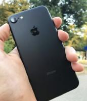 Apple iPhone 7 - 32GB - Matte Black (Unlocked) - Mint Condition