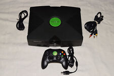 Xbox Original Microsoft Console Video Game System Complete Tested