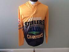 Pittsburgh Steelers Super Bowl Champion Hoodie Xlii 43 Nfl Football Team Shirt L