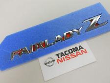Genuine Nissan 370Z JDM Z34 Fairlady Z Rear Emblem Brand New OEM 84895-1EK0A