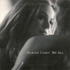 CD SINGLE 2 TITRES--MARIAH CAREY--MY ALL--1998