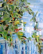 Abstract Landscape Authentic Oil Painting JMW art John Williams Expression SALE