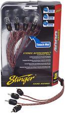 Stinger Si4417 audio RCA cable de Interconexión 4 canales 4000 series 5.2m