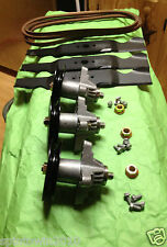"Cub Cadet Troy Bilt MTD 50"" RZT Deck Rebuild Kit Blades Spindles Belt Mower"