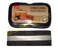 12x Brosse polish pour lustrage wax nettoyage facile du cuir et vinyl Sac,Veste