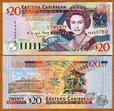 Eastern East Caribbean $20 (2003) Anguilla, P-44u, UNC