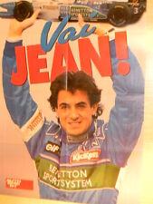 Q17 Poster Jean Alesi Benetton - Vai Jean