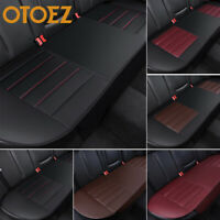 Luxury PU Leather Car Rear Seat Cover Back Bench Cushion Pad Interior Protector