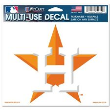 """Houston Astros 5""""x6"""" Ultra Decal [NEW] MLB Car Auto Static Cling Sticker CDG"""