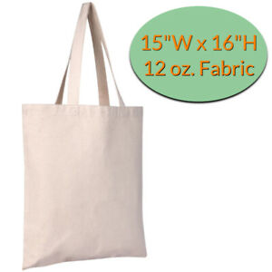 Heavy Duty Canvas Tote Bags Wholesale - Blank Canvas Bags for Arts and Crafts